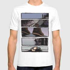 Leap of Faith MEDIUM Mens Fitted Tee White