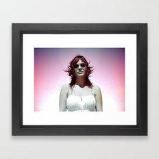 Aire Framed Art Print