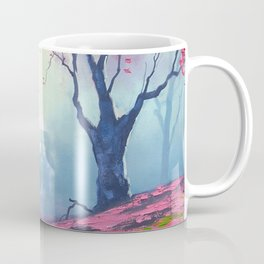 TARDIS CLOUD art painting Coffee Mug