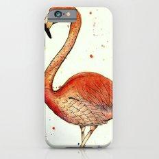 Colourful Flamingo  Slim Case iPhone 6s