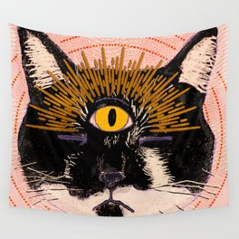 Pet Psychic Wall Tapestry