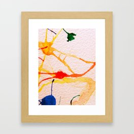 The Spider and the Web Framed Art Print