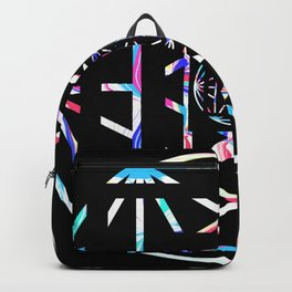 Geometric Mandala  Backpack