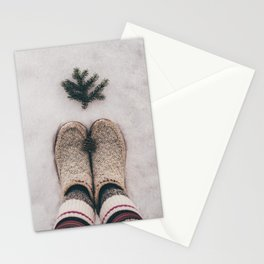 Cozy Winter Stationery Cards