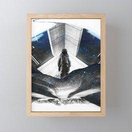 Astronaut Isolation Framed Mini Art Print
