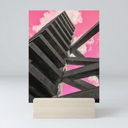 Pink Sky in Sao Paulo 5 Mini Art Print