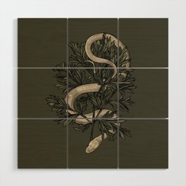 Le Serpent et l'Absinthe Wood Wall Art