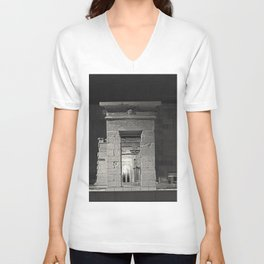 An adventure into the past I.  Unisex V-Neck