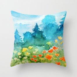 Spring scenery #1 Throw Pillow