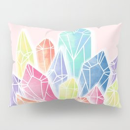 Crystals Pink Pillow Sham