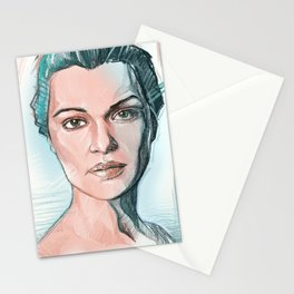 rachel weisz Stationery Cards