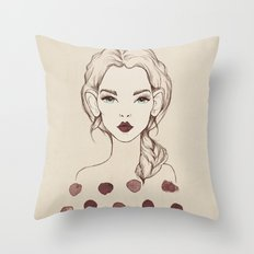 Marsala Throw Pillow