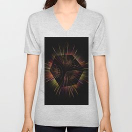 Light show 4 Unisex V-Neck