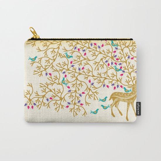 Deer Beautiful Burden Carry-All Pouch