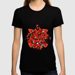 orange 70s T-shirt