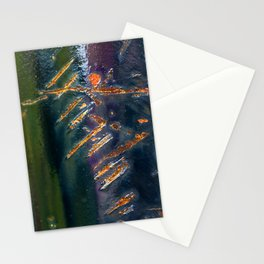 Metal Scratch Stationery Cards