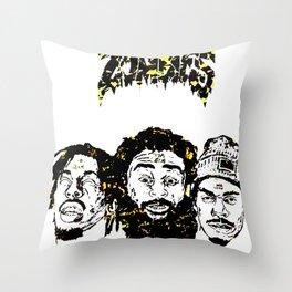 Flatbush Zombies Throw Pillow
