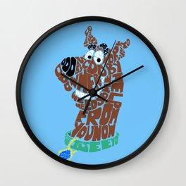 scooby Wall Clock