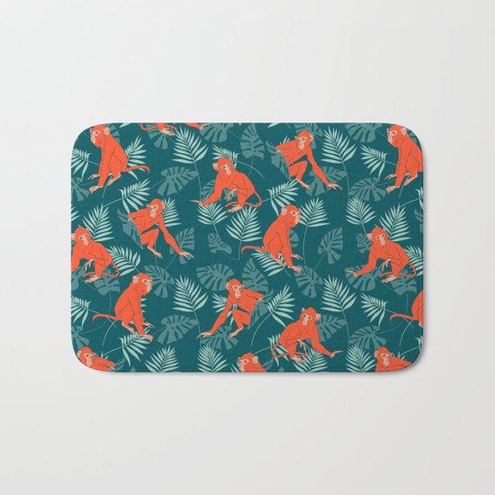 Monkey Forest Bath Mat