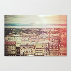 Edinburgh Love Canvas Print