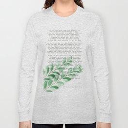 If Long Sleeve T-shirt