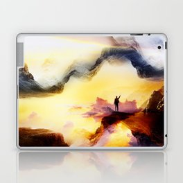 Chaos is a ladder Laptop & iPad Skin