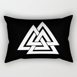 Valknut Rectangular Pillow