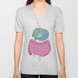 Digestive Unisex V-Neck