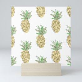 Pineapples Mini Art Print