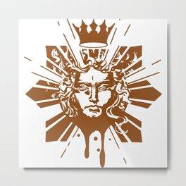 New Logo, French Ren. Apollo Metal Print
