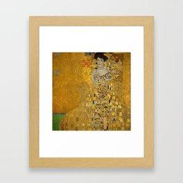 Adel Bloch-Bauer I Framed Art Print