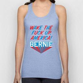 WTFU, America Super Bernie Unisex Tank Top