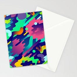Splash Pattern Stationery Cards