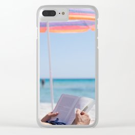 Il dolce far niente ~ the sweetness of doing nothing Clear iPhone Case