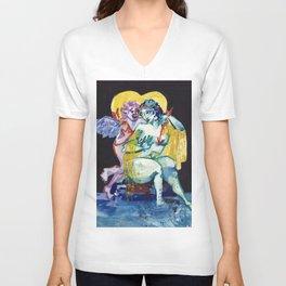 Venus & Cupid Unisex V-Neck