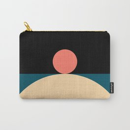Abstraction_Mountains_Radius_Art_Minimalism_008 Carry-All Pouch