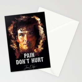 Pain Don`t Hurt - Road House Stationery Cards