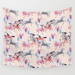 Wild Horses Wall Tapestry
