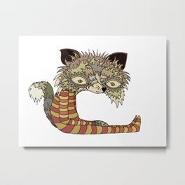 Soju Fox Metal Print