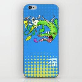 The Luck Dragon iPhone Skin