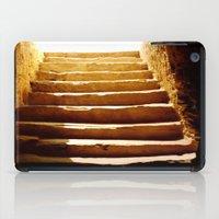 mandie manzano iPad Cases featuring Steps to tomb by Brian Raggatt
