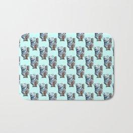 awesome koala pattern Bath Mat