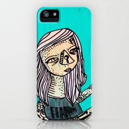 Fearless_Key iPhone Case