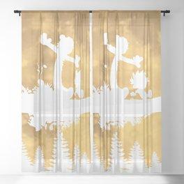 No Worries Sheer Curtain