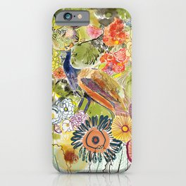 Peacock in the Jungle iPhone Case