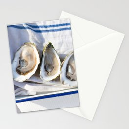 Oysters on Duxbury Bay Stationery Cards