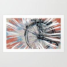 The Commute Art Print