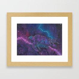 Cosmic Turtles Framed Art Print
