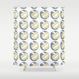 Volleyball Art Shower Curtain