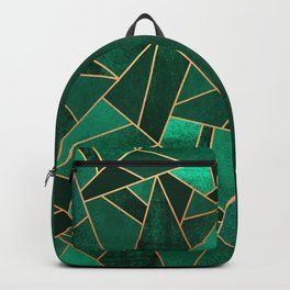Emerald and Copper Backpack